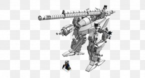 Machine Gun - Machine Gun Firearm Car Gun Barrel PNG