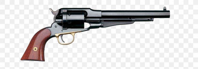Remington Model 1858 Revolver Colt Single Action Army .45 Colt Cartridge, PNG, 2000x704px, 45 Colt, 4440 Winchester, Remington Model 1858, Air Gun, Cartridge Download Free