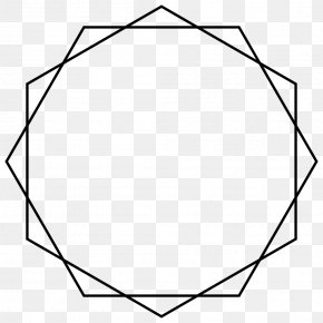 Shape - Star Polygon Geometry PNG