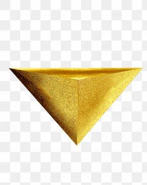Triangle Stone Platform - Triangle Shape Clip Art PNG