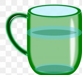 Water Glass - Glass Drinking Water Coffee Cup PNG
