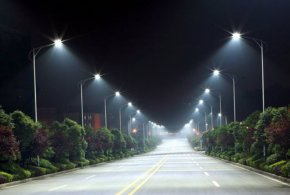 Street Light - LED Street Light Lighting Light-emitting Diode PNG
