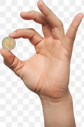 Money In Hand Image - Coin Hand PNG