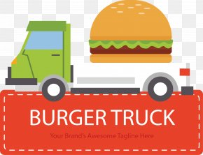 Green Burger Fast Food Car - Hamburger Fast Food Buffalo Burger Pizza PNG
