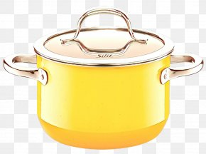 Cup Metal - Lid Yellow Stock Pot Cookware And Bakeware Tableware PNG