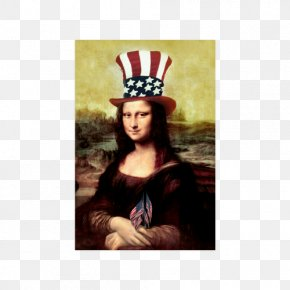 Fourth Of July Poster - Mona Lisa Musée Du Louvre Painting The Last Supper Art PNG