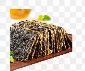 Seaweed Biscuit Pieces - Snack Nori Cookie Biscuit Eating PNG