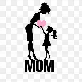 Mother's Day Element - Mother's Day Daughter Child PNG