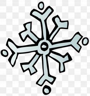 Snowflake - Snowflake Winter Symbol Calendar Clip Art PNG