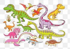 Cartoon Dinosaur Element - Dinosaur Cartoon Royalty-free Illustration PNG