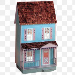 Victorian Cottage Dollhouse - Dollhouse Barbie Toy PNG