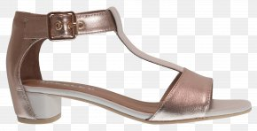 Rose Gold - Footwear Shoe Sandal Brown Beige PNG