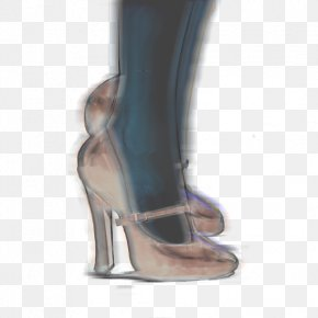 Technological Sense Heels - High-heeled Footwear Shoe Boot Sandal PNG