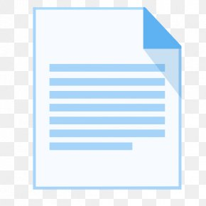 ModernXP 30 Filetype Text - Blue Angle Area Text PNG