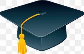 Huang Sui Blue Graduation Cap - Hat Estudante Graduation Ceremony PNG