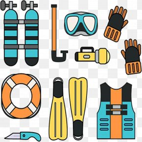 Diver Tools - Underwater Diving Scuba Diving Diving Equipment Clip Art PNG