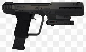 Robocop - Halo 3: ODST United States Special Operations Command Personal Defense Weapon AutoMag PNG