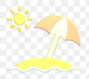 Crescent Symbol - Summer Icon Sun Umbrella Icon Beach Icon PNG