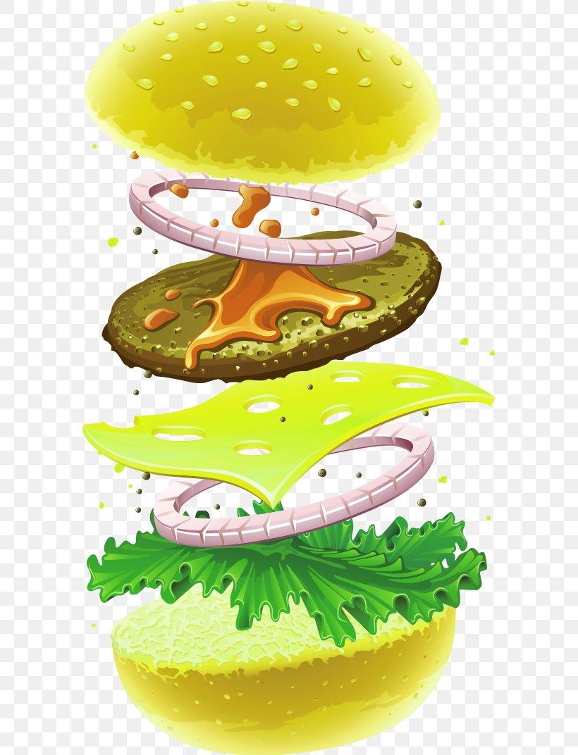 Hamburger Cheeseburger Fast Food Chicken Sandwich Veggie Burger, PNG, 586x1072px, Hamburger, Bread, Bun, Cheese, Cheeseburger Download Free