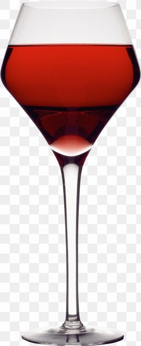 Glass Image - Red Wine Cocktail Martini Wine Glass PNG