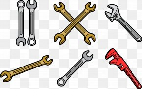 Vector Wrench - Monkey Wrench Euclidean Vector PNG
