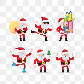 Santa Claus - Santa Claus Gift Clip Art PNG
