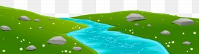 River Ground Cover Transparent Clip Art Image - River Diagram Clip Art PNG