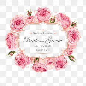 Creative Roses Invitation Design - Wedding Invitation Rose PNG