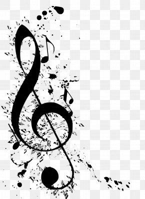 Musical Note - G-clef Musical Note Clip Art PNG