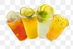 Summer Drinks - Tea Juice Cocktail Garnish Limeade Lemonade PNG