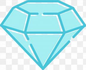 Azure Gem - Diamond Gemstone Stock Photography Clip Art PNG