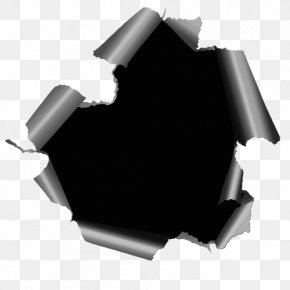 Black Hole - Paper Black Hole Drawing Photography Black And White PNG