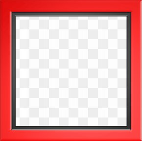 Red Border Frame Photo - Square Text Picture Frame Area Pattern PNG