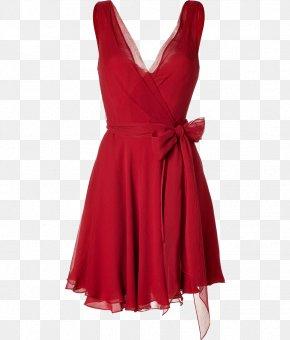Dress - Dress Ralph Lauren Corporation Chiffon Silk Red PNG
