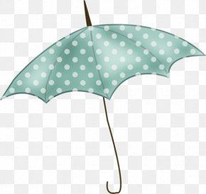 Hand-painted Dot Umbrella PNG