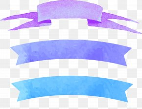 Blue Purple Text Border - Blue Purple Color PNG