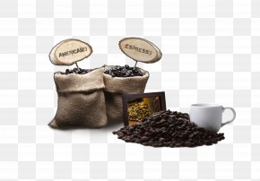 Bags Of Coffee Beans - Arabic Coffee Espresso Japanese Cuisine Burr Mill PNG