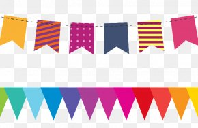 Party - Children's Party Birthday Flag PNG