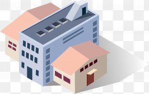 Building And Warehouse - Icon Building Vector Building Euclidean Vector Adobe Illustrator Industry PNG