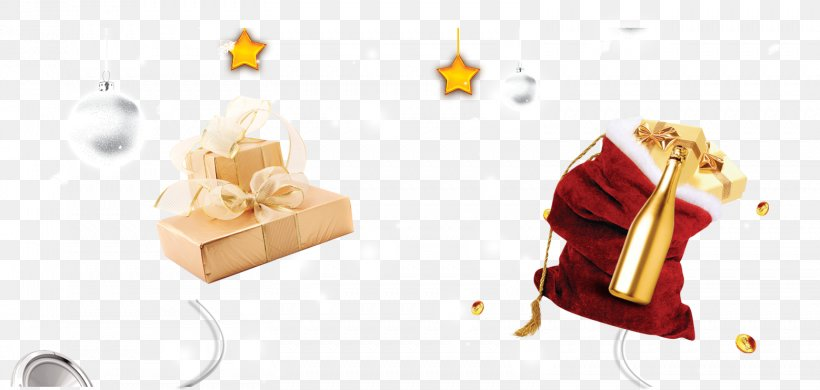 Christmas Gift Holiday Gratis, PNG, 1558x742px, Gold, Bag, Brand, Christmas, Color Download Free