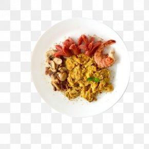 Crayfish Ham - Fried Rice Ham Spanish Cuisine Vegetarian Cuisine PNG