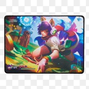 League Of Legends - League Of Legends Ahri Mouse Mats Video Game Riot Games PNG