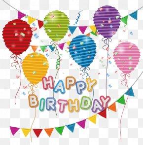 Happy Birthday - Birthday Cake Greeting Card Clip Art PNG
