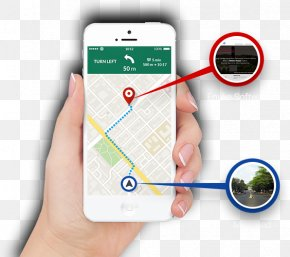 Mobile Navigation Page - Global Positioning System Mobile App Development Location-based Service IPhone PNG