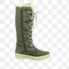 Boot - Snow Boot Shoe Walking Khaki PNG