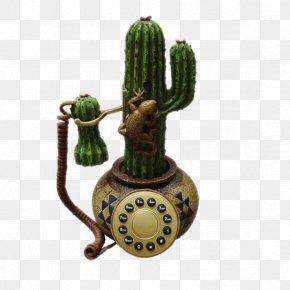 Cactus Phone - Flowerpot Ceramic Cactaceae PNG