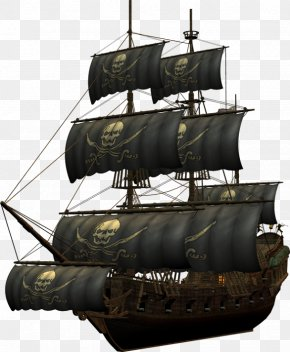 Pirate Ship - Ship Piracy Clip Art PNG