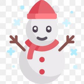 Snowman 3D Shapes PNG