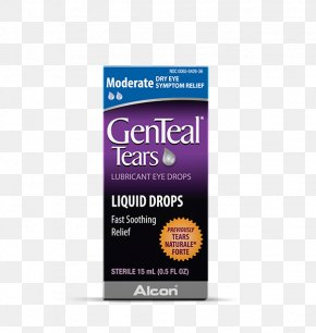 Tear Material - Fluid Ounce GenTeal Tears Moderate Liquid Drops Eye Drops & Lubricants Product PNG
