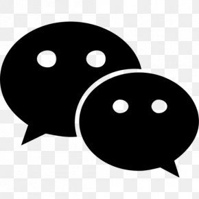 Social Media - WeChat Social Media Font Awesome PNG